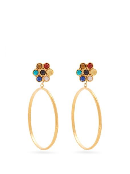 Sylvia Toledano earrings hoop earrings gold jewels