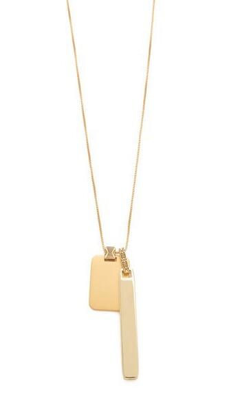 vintage necklace gold jewels