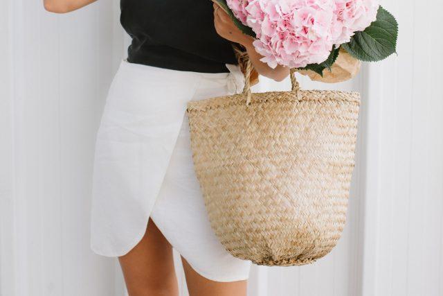 DIY Linen Wrap Mini Skirt | Collective Gen