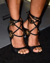 shoes,strappy heels,high heel sandals,black heels