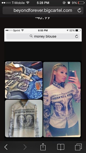 blouse money blouse