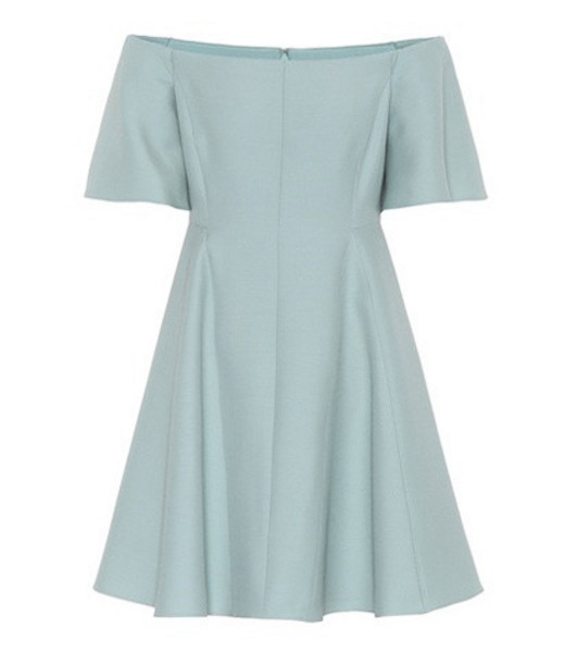 Valentino Off-the-shoulder dress in green