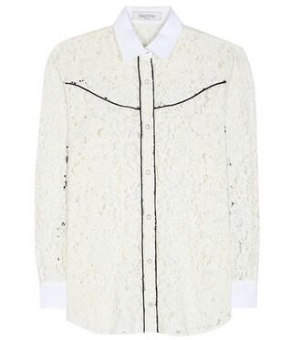 shirt lace shirt lace cotton top