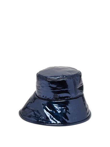 Maison Michel - Paulina Bucket Hat - Womens - Navy