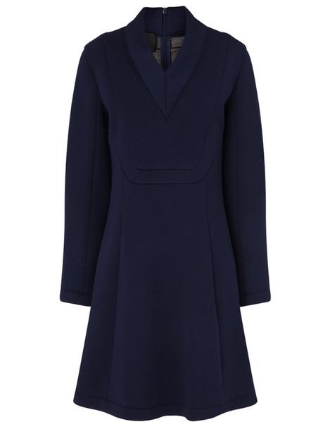 Cédric Charlier dress mini dress mini long navy
