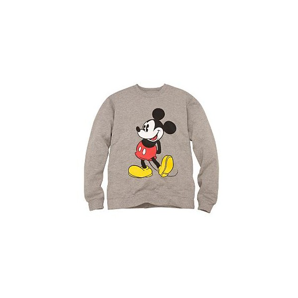 Gray Mickey Mouse Sweatshirt for Him | DisneyShopping.com