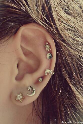 jewels ear piercings earings cute earrings cute jewelry