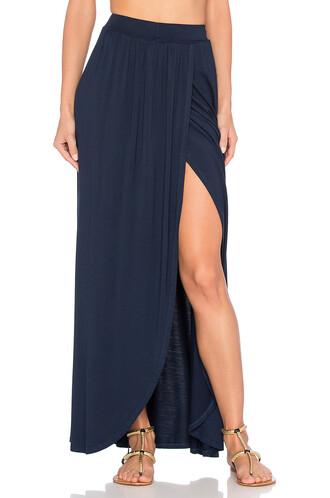 skirt maxi skirt wrap maxi skirt maxi navy