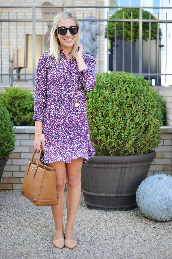 39d53b85ae54 lemon stripes blogger dress bag jewels.