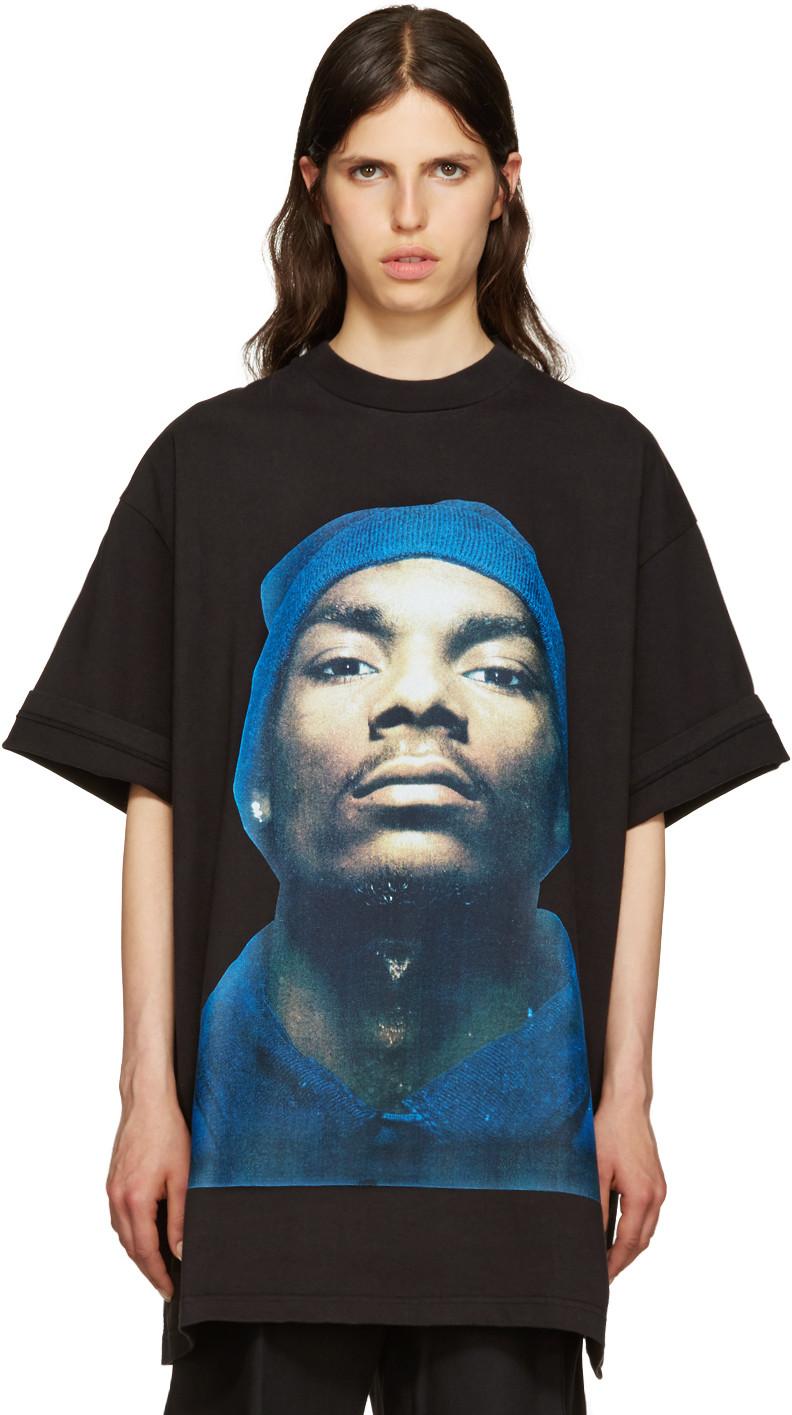 6a6ece874c786 Vetements - Black Snoop Dogg T-Shirt