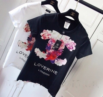 shirt chanel t-shirt