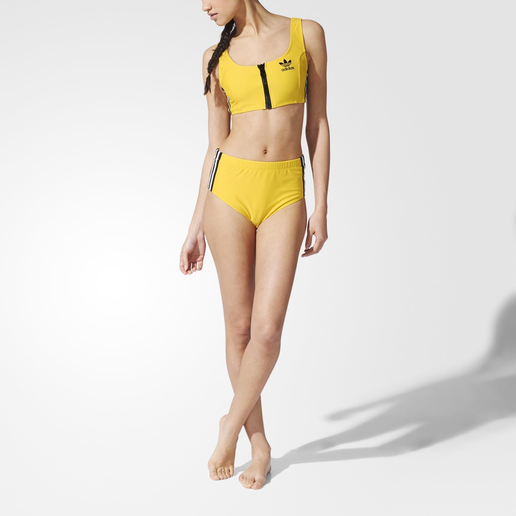 adidas jumpsuit womens yellow