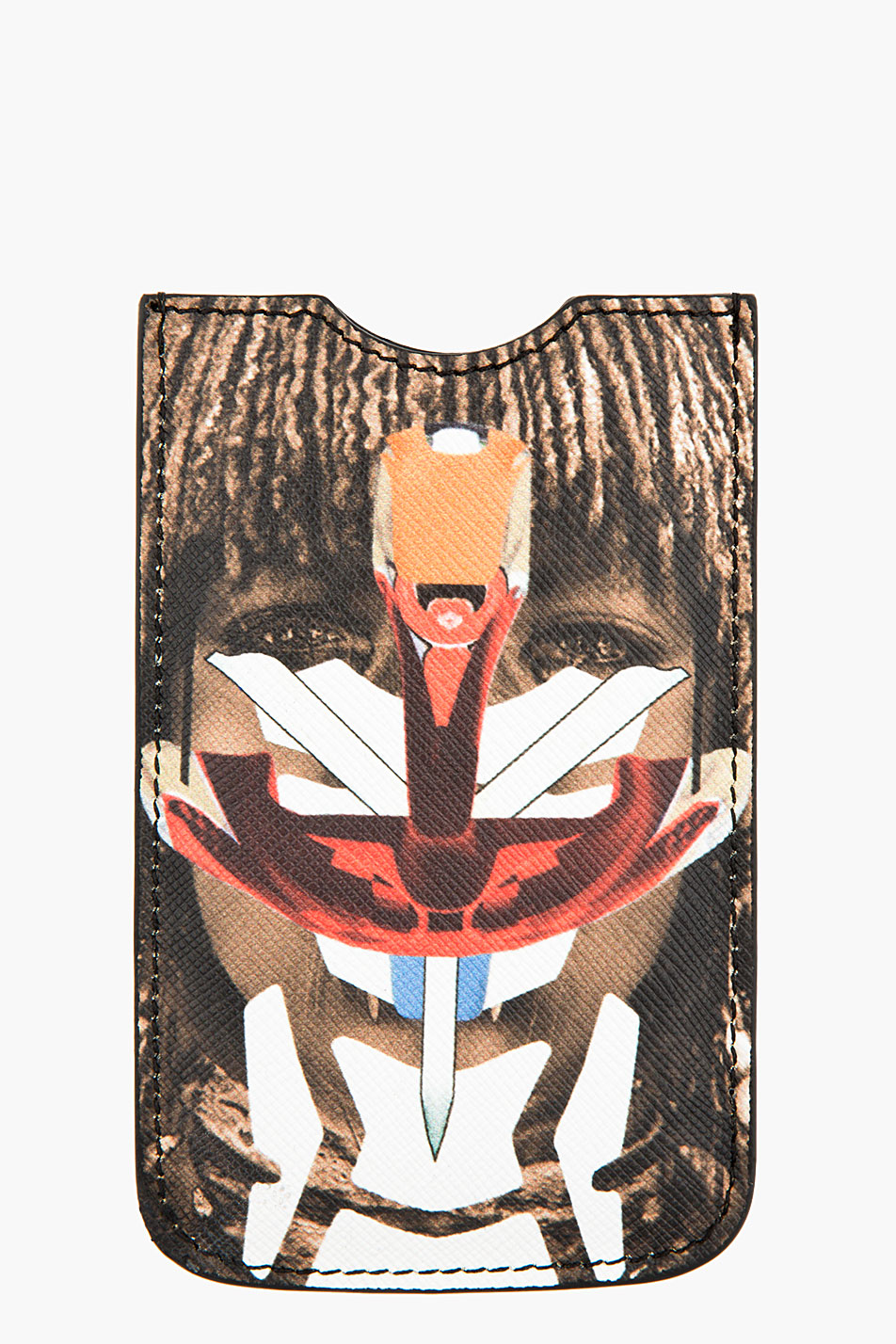 Givenchy brown robot himba phone case