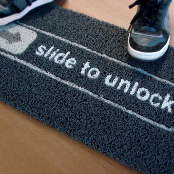 home accessory doormat geek tumblr pinterest instagram cool home decor cute - Cool Home Decor