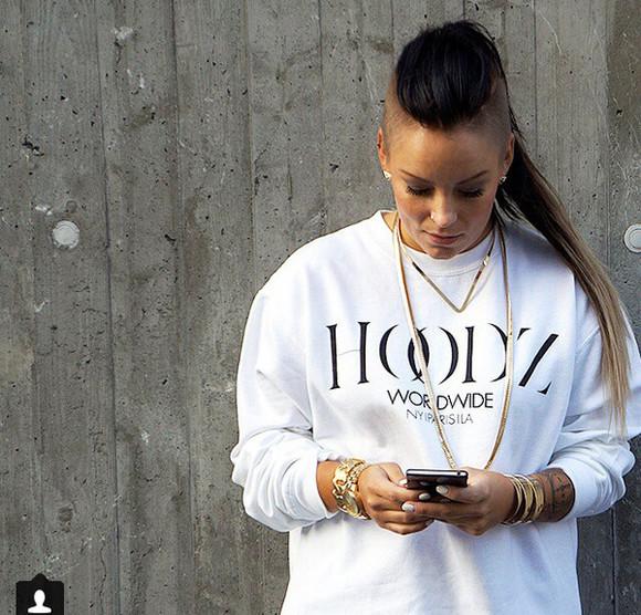 jewels girl streetwear streetfashion streetstyle hoodz worldwide sidecut