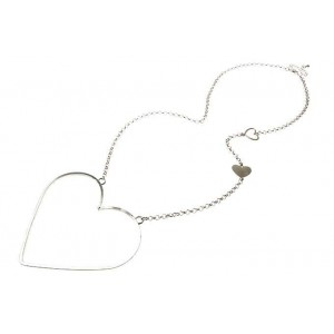 "Fashion Accessories, Womens Jewellery, Silver ""I'v Got A Big Heart"" Pendant Necklace at La beau Boutique"