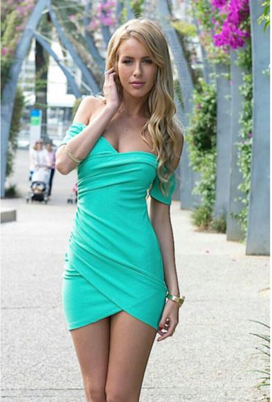 blue dress short dress