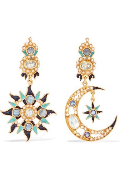 Percossi Papi earrings gold jewels