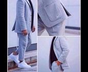 top,nike suit,jumpsuit,nike sweater,suit,grey,menswear,sweatpants,grey sweatpants,mens suit,nike,jacket,blazer,joggers