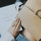 bag,chloe bag,nude bag,quilted,designer bag,gold ring,kayture,knuckle ring,statement ring,top blogger lifestyle,kristina bazan