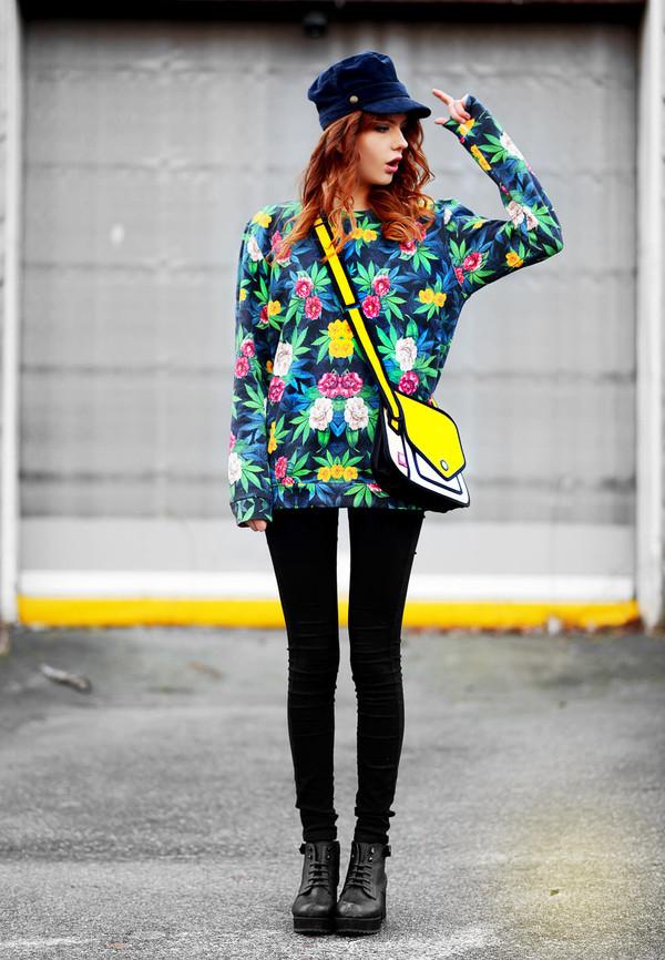 ebba zingmark t-shirt shoes hat