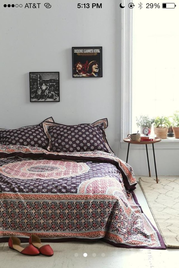 jewels bohemian hippie home decor bedding