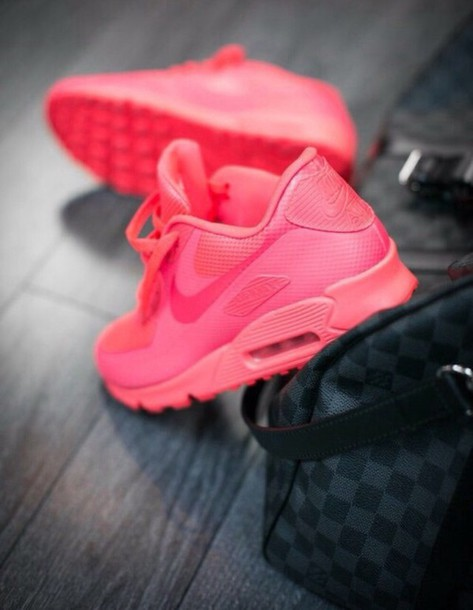 shoes nike air max pink