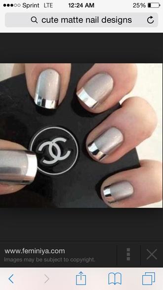 nail polish metallic nail polish