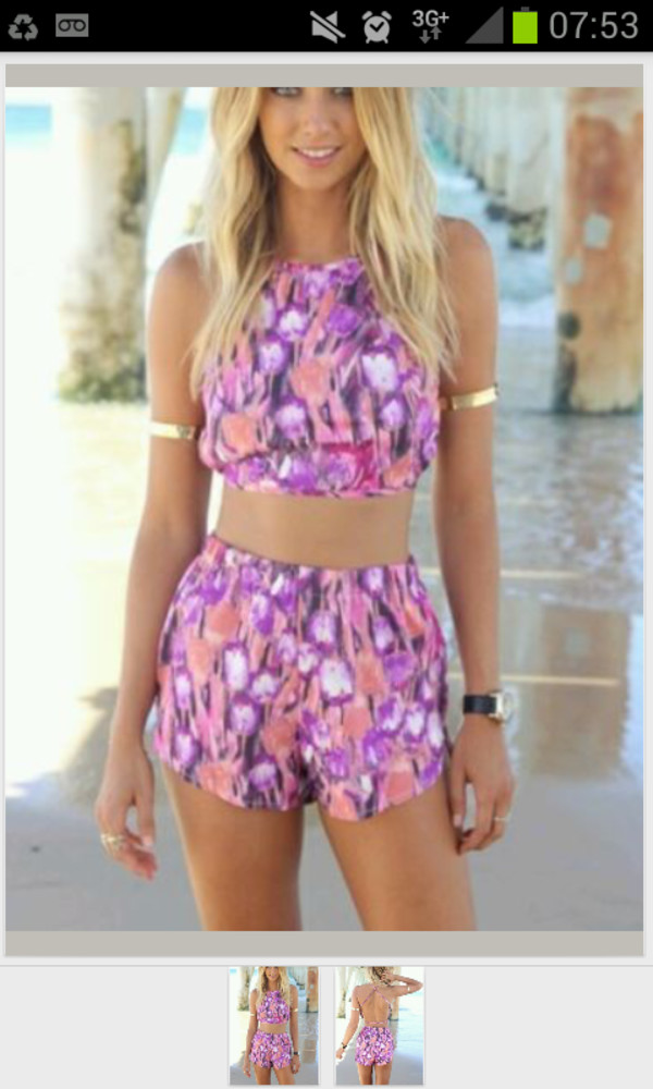 co ord two-piece pattern