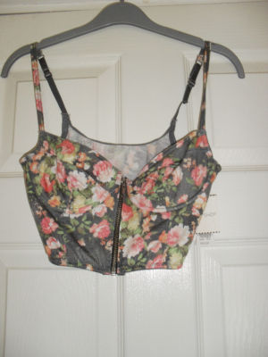 **TOPSHOP Floral Bralet 34b BNWT**   eBay UK