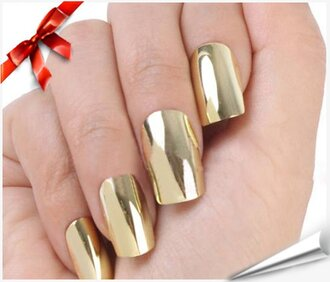 nail accessories nails gold nails metallic nails