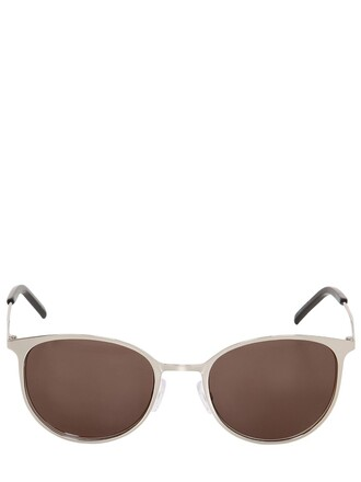metal sunglasses silver