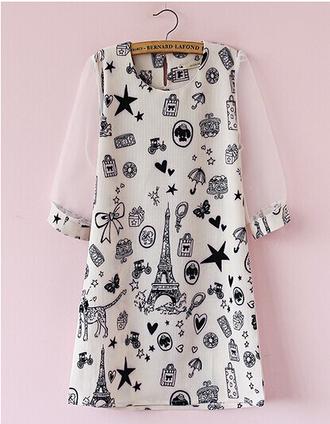 dress organza soft fashion half sleeve