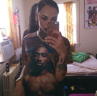 tupac fashion tumblr instagram style shirt