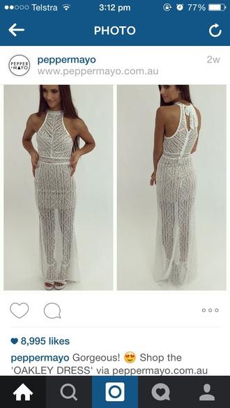 dress trendy formal white lace dress pretty white lace dress