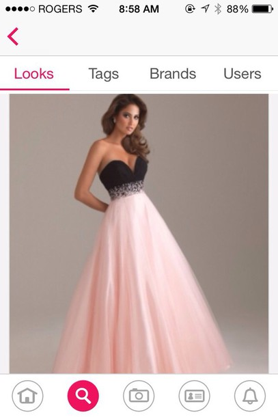 dress prom dress black dress pink dress hair accessory make-up