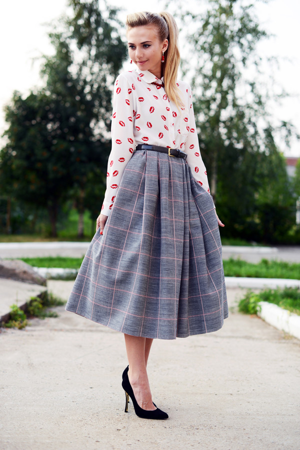 blouse kiss blouse persun persunmall clothes clothes skirt