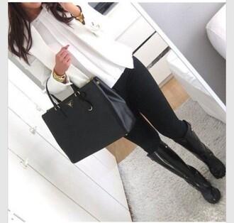 bag t-shirt shoes