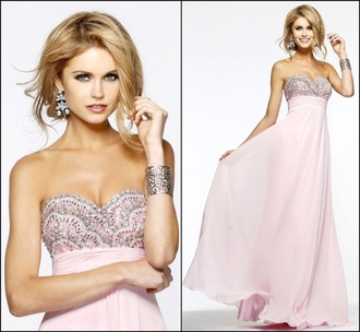 dress prom prom dress pink diamonds party party outfits sexy dress sparkly dress