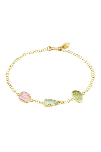 gold bracelet gold multicolor jewels