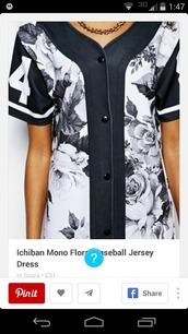 jacket,shirt,jersey dress,floral jersey dress