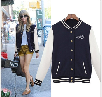 Aliexpress.com : Buy 2014 New Spring Baseball Uniform Women Jacket Cardigan Class Sweatshirts Monsters,Inc. Girls Outerwear Monster University from Reliable jacket outwear suppliers on Lady Go Fashion Shop
