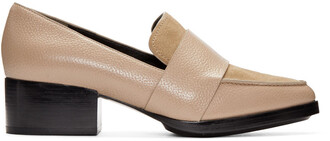 loafers beige shoes