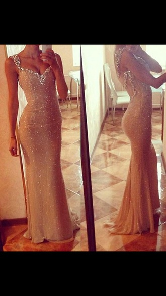 dress sparkle long dress