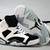 Nike Air Jordan Retro 6 GS Oreo White Black Women's Shoes