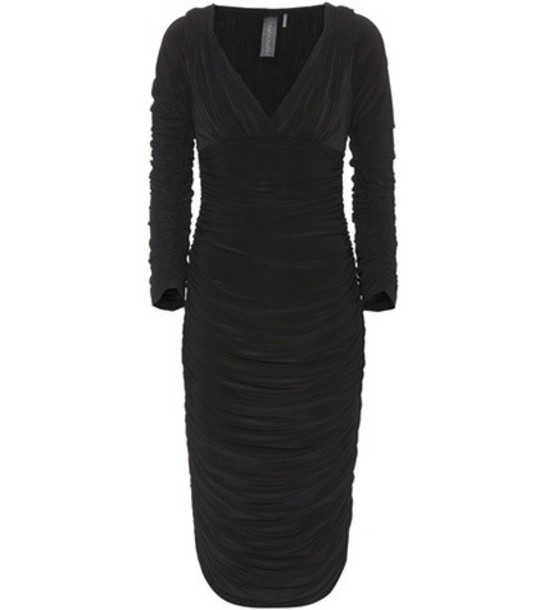 Norma Kamali dress black