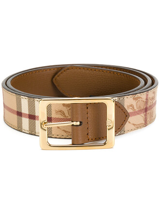 women belt leather nude cotton