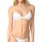 Melissa odabash tobago bikini top - white