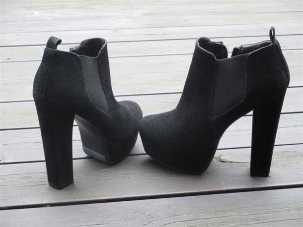 shorts shoes high heels black shoes mocha mocha shoes