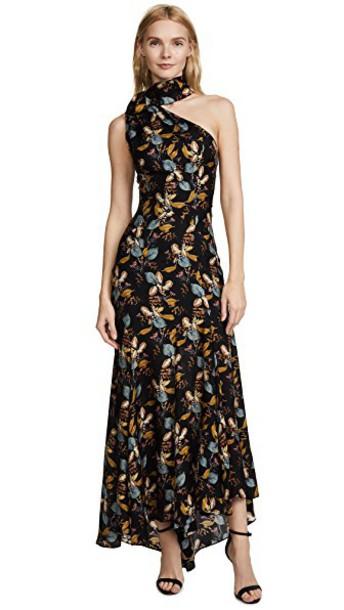 Nicholas dress maxi dress maxi floral black